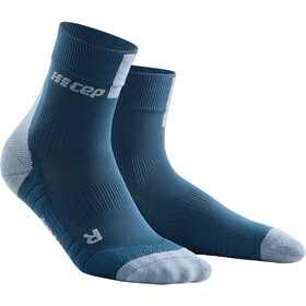 cep Short Socks 3.0 - Calcetines Running Hombre - gris/azul